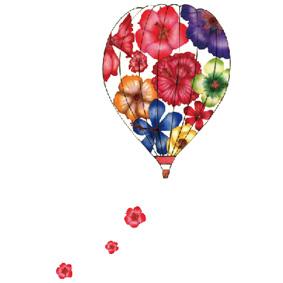 気球に乗って